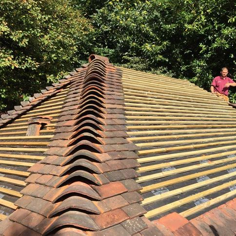 ROOF WORK